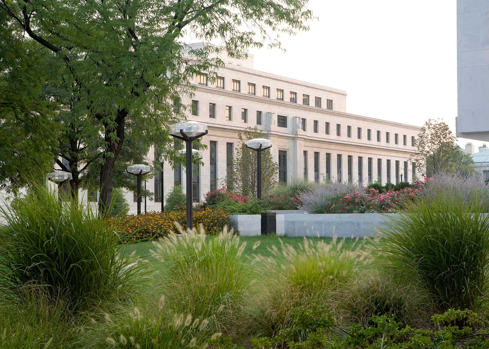 Federal Reserve building in Washington, DC. Photo: Roger Foley