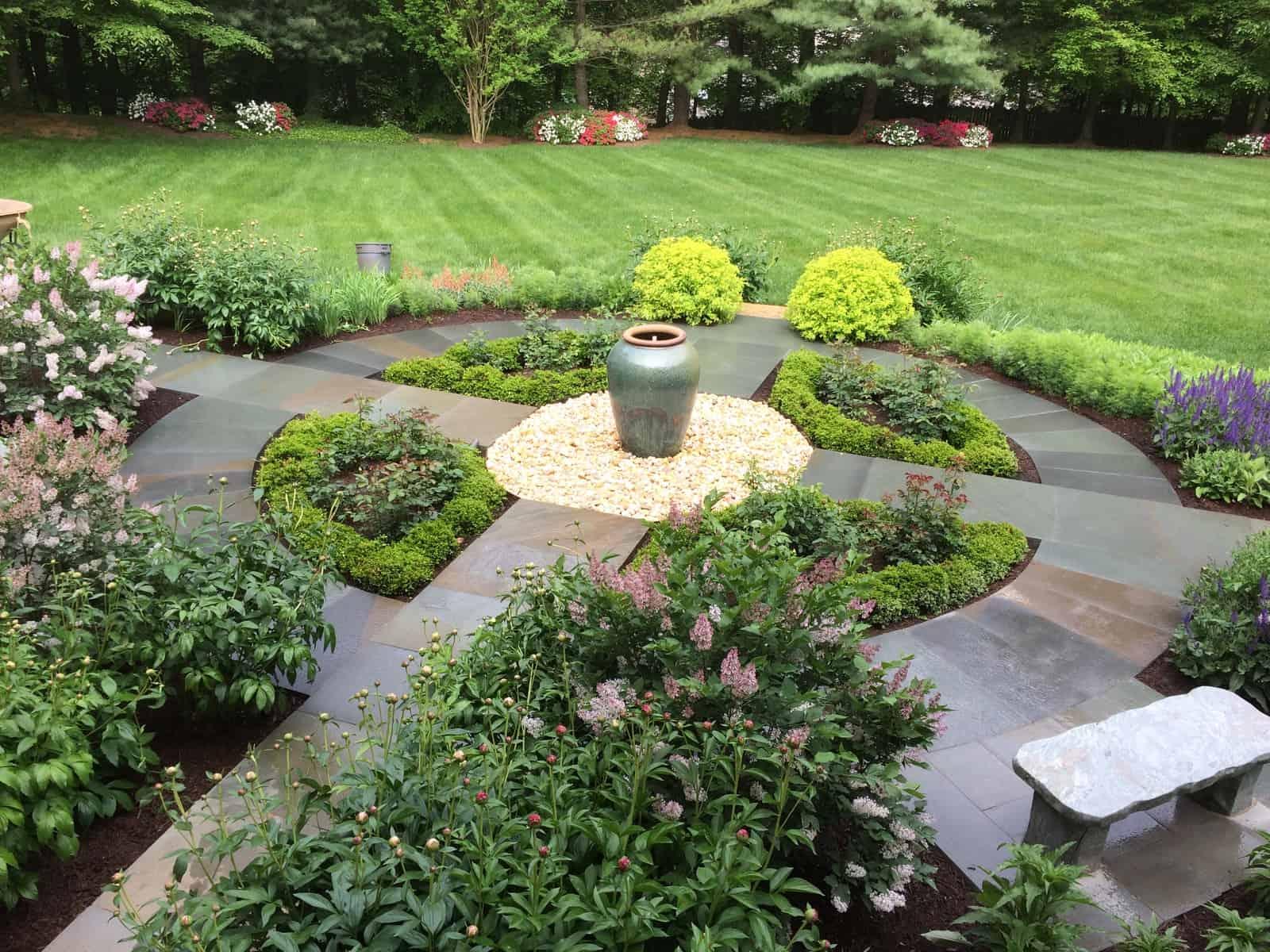 D & A Dunlevy Knot Garden